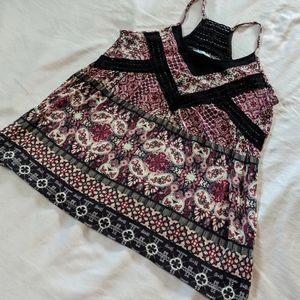 Maurices Printed Swing Tank